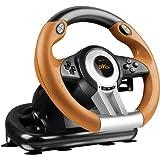 Speedlink - Racing Wheel Drift O.Z. Sl4495Bkor, Color Negro Y Amarillo (PS3)