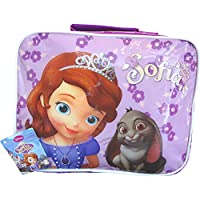 Girl's Purple Disney Princess Sofia The First School Lunch Travel Bag