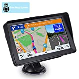 Sat Nav Aonerex GPS Navigation System with Sunshade for Car Truck Motorhome 7