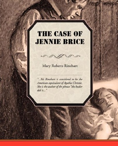 The Case of Jennie Brice Cover Image