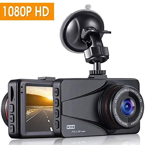 """Dash Cam, OKEEY Dashcam Mini Telecamera per Auto Dash Cam 1080P Full HD, 3.0"""" LCD, Obiettivo Grandangolare di 170 Gradi,Rilevazione di Movimento, Registrazione in Loop, G-Sensor"""
