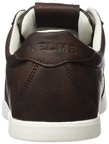 Kelme K-City, Baskets Basses Mixte Adulte Marron - chocolat