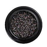 Nagel Art Kristall Sand Diamonds Strassstein Shaped Diamant Micro Drill Dekoration Bunte Glitter...