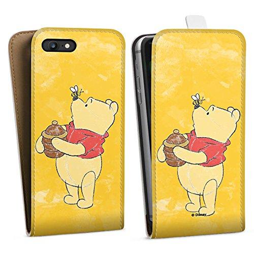 Apple iPhone X Silikon Hülle Case Schutzhülle Disney Winnie Puuh Fanartikel Geschenke Downflip Tasche weiß