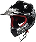 "Armor · AKC-49 ""Black"" (black) · Casco Moto-Cross · Off-Road Quad Bambino Racing Motocicletta..."