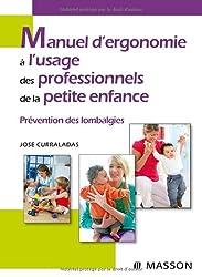 Manuel d'ergonomie à l'usage des professionnels de la petite enfance : Prévention des lombalgies