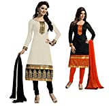 SiyaRam Women's Cotton Salwar Suit Dress...