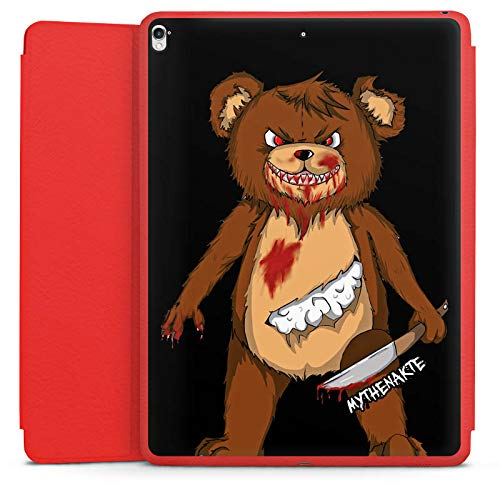 DeinDesign Smart Case rot kompatibel mit Apple iPad Pro 12.9 (2017) Hülle mit Ständer Schutzhülle Halloween Horror Mythenakte (Film Pro Horror Ohne Halloween)