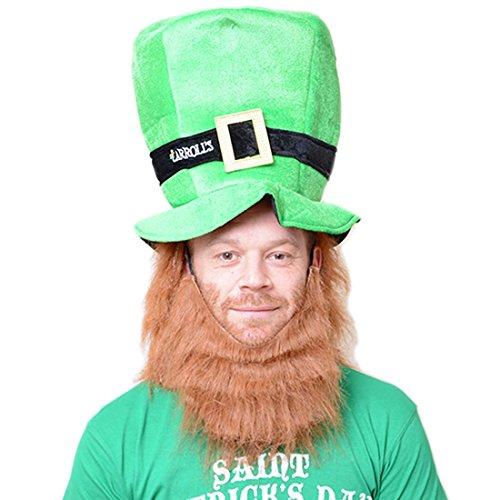 ith Red Beard & Hair (Irish Leprechaun Kostüm)