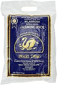 Pearl Swan Fragrant Milagrosa Beras Wangi Jasmine Rice, 5 kg