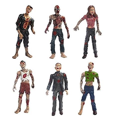 Kunststoff Wandelnde Leiche Filmfiguren Aktion Zombie Puppe Figuren Spielzeug