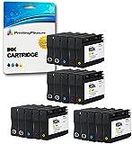 Printing Pleasure 20 Compatibili HP 932XL / HP 933XL Cartucce d'inchiostro Sostituzione per HP Officejet 6100 6600 6700 7110 7600 7610 7612 - Nero/Ciano/Magenta/Giallo, Alta Capacità