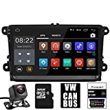 Panlelo PA-VW91, für Volkswagen 9 Zoll Android 7 HD Touchscreen Autoradio GPS Navigation Navigationsgerät mit Bluetooth FM/AM/RDS WiFi Bora Jetta Tiguan Golf Polo Touran