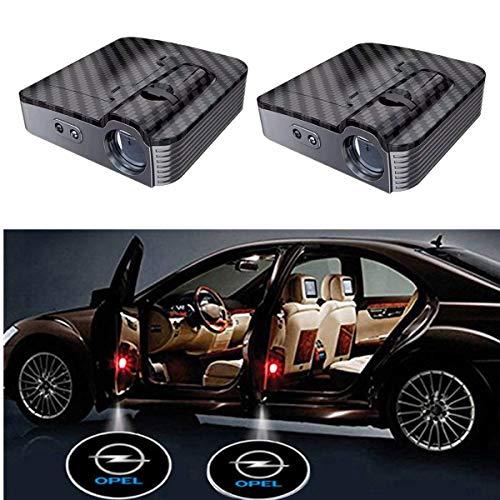 2 Pcs LED Einstiegsbeleuchtung,Autotür Logo Licht Willkommen