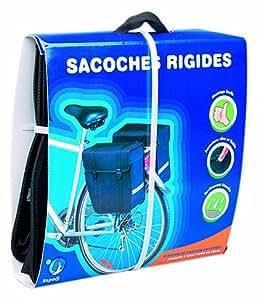 Hapo-G 11202160 Sacoche arrière vélo Marron 2 x 12 Litres
