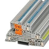 PHOENIX CONTACT Installationsschutzleiterklemme UTI 2,5-PE/L/NT, 50 Stück, 3076028