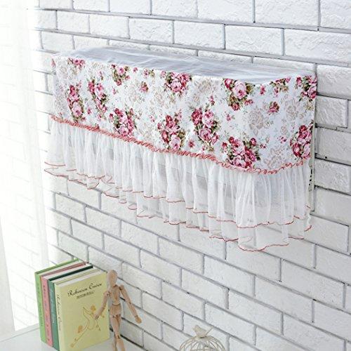 raylans Klimaanlage Lace Cover Innen Staubfrei, Jahr um Displayschutzfolie Home Decor, 4#, 88x18cm(35x7)