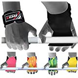 RDX Weight Lifting Gym Hook Strap Crossfit Wrist Wraps Bodybuilding Training Workout