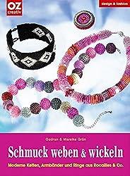 Schmuck Weben U0026 Wickeln. Moderne Ketten, Armbänder Und Ringe Aus Rocailles  U0026 Co.