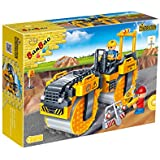 Banbao  Building Blocks Construction Set Steam Roller, Multi Color