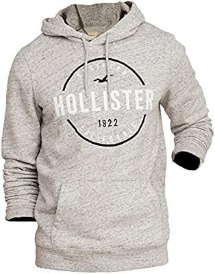 Hollister - Sudadera con capucha - Manga Larga - para hombre