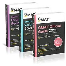 GMAT Official Guide 2021 Bundle, Books + Online Question Bank