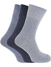 Chaussettes pour diabétiques (3 paires) - Homme