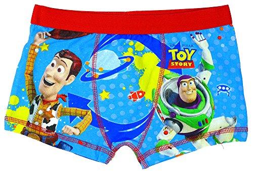 Jungen Offiziell Toy Story Woody Buzz Lightyear Badehose Passform Boxer Shorts größen von 3 bis 7 Jahre - Blau - Blau, Jungen, 110-116, Blau