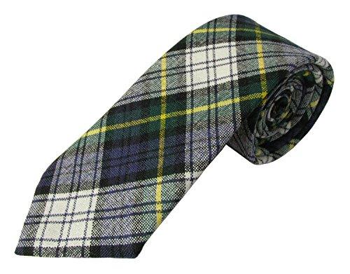 Herren 100% Wolle Tartan Hals Krawatte, erhältlich in einer Auswahl von Tartans Gr. Einheitsgröße, Gordon Dress (Gordon Dress)