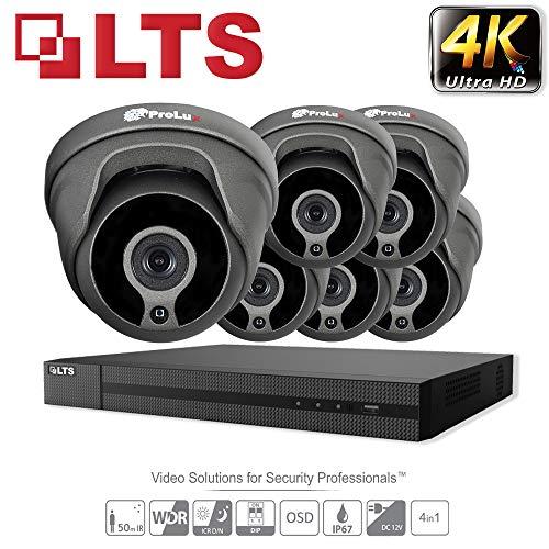 HIKVISION CCTV System 2.1 MP-Kit 8 x LTS-Sicherheit Kameras cmht1722we-28 4 K Auflösung ds-7208hqhi/K1 DVR + 2 TB Festplatte
