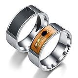 Yeshi Fashion finger Ring NFC Smart magico in acciaio INOX indossabile per Apple, Samsung, Huawei, Xiaomi