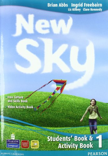 New sky. Student's book-Activity book-Sky reader. Per la Scuola media. Con CD Audio. Con espansione online: 1