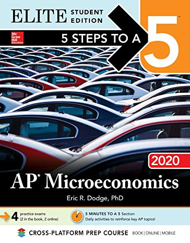 5 Steps to a 5: AP Microeconomics 2020 Elite Student Edition
