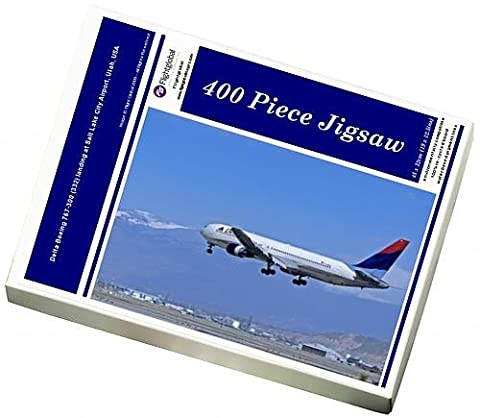 Photo Jigsaw Puzzle of Delta Boeing 767-300 (332) landing at