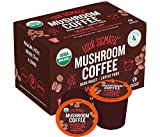 Four Sigmatic Mushroom Kcup - Organic and Fair Trade Coffee Pods with Chaga