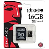 Arc Class 10 Kingston Ultra Micro SD Memory Card 16GB