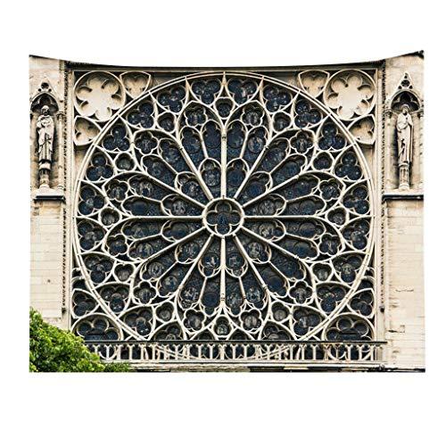 NIUQY Sonderverkauf wesentlich Schöne Notre Dame Heimtextilien Wandteppich Dekoration Kit Wohnkultur Ausverkauf -