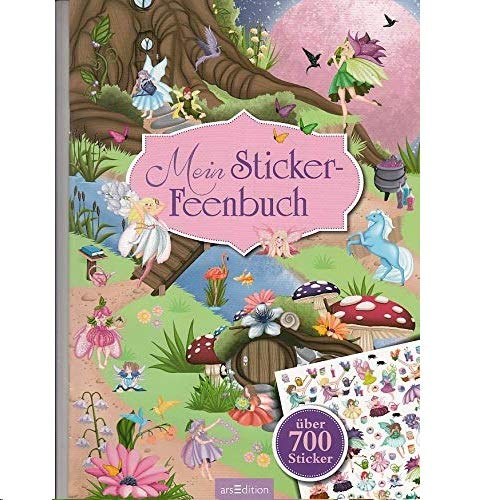 Mein Sticker-Feenbuch (Mein Stickerbuch) -