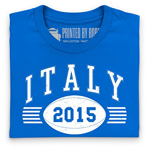 Italy Tour 2015 Rugby T-Shirt, Damen Royalblau