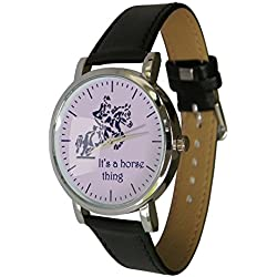 It's a Horse thing design watch (H2). ideal horsey Gift Idea for any equine Lover