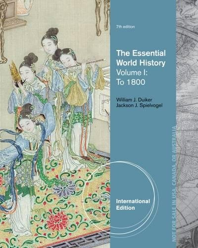 The Essential World History, Volume I: To 1800, International Edition