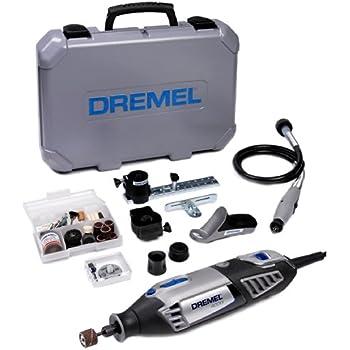 Dremel Multifunktionswerkzeug (175 Watt), 4000-4/65, 4 Vorsatzgeräte, 65 Zubehöre