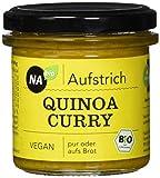 Nabio Quinoa Curry - Bio Brot-Aufstrich - vegan, 6er Pack (6 x 140 g)