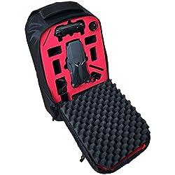 Profi Transport Rucksack passend für DJI Mavic Pro mit umfangreichen Platz für viele Akkus und Zubehör von MC-CASES.com