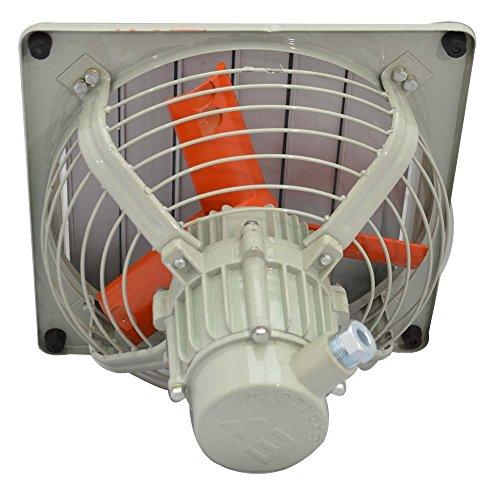 Commercial Ventilation d'échappement Ventilateur d'extraction d'air axial Compresseur d'air en métal avec déclencheur - , 12 Pouces / 30 cm