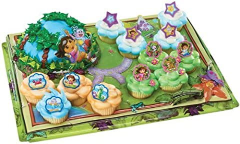 Dora Explorer Adventure Signature Cupcake Platter by A Birthday Place