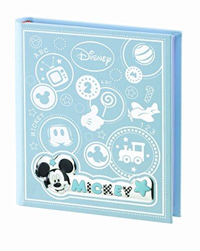 Valenti&co_album/diario fotografico_argento_mickey mouse_disney_20x25 cm