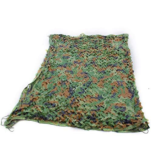 LDFZ Schatten Tuch - 210D Oxford Tuch - Woodland Camouflage Net Camping Jagd Schießen Sonnenschutznetz - Pflanzenschutz/Carport/Jalousien/Party Dekoration