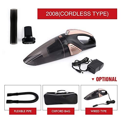 ACCDUER Aspirateur portatif sans Fil, aspirateur de Voiture portatif avec l'aspiration Forte, DC 12V Haute Puissance aspirateur Automatique pour Le Nettoyage intérieur de Voiture