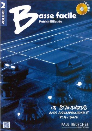 Basse Facile Vol 2 + cd